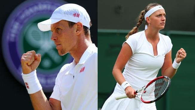 Berdych a Kvitová