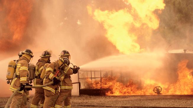 Američtí hasiči (ilustrační foto)