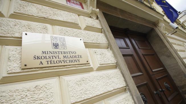 Ministerstvo školství.