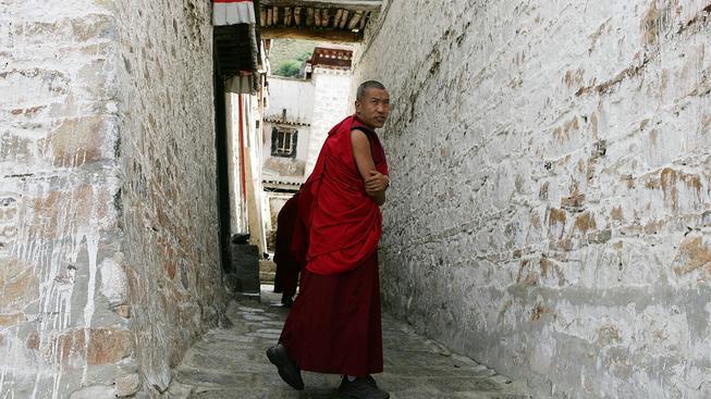 Tibet (ilustrační fotografie)