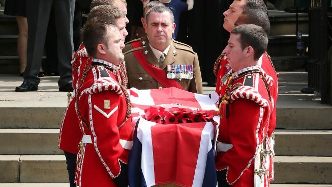 Pohřeb Lee Rigbyho