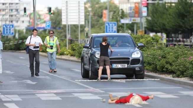 Rekonstrukce nehody Romana Janouška
