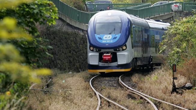 Vlak ČD (ilustrační foto)