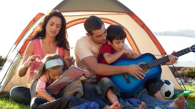 Rodina u stanu (ilustrační fotografie)