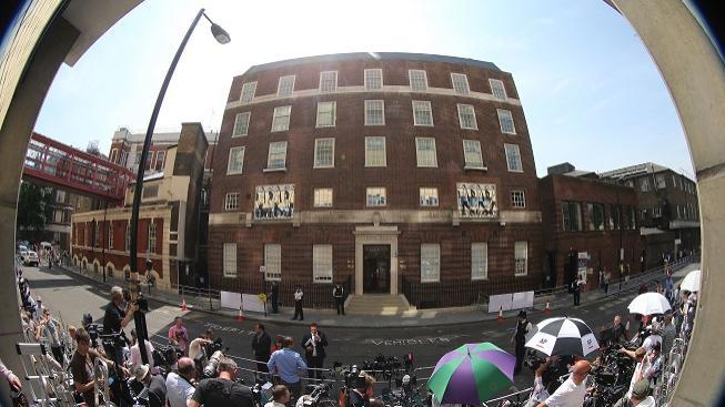 Nemocnice, ve které rodila Kate