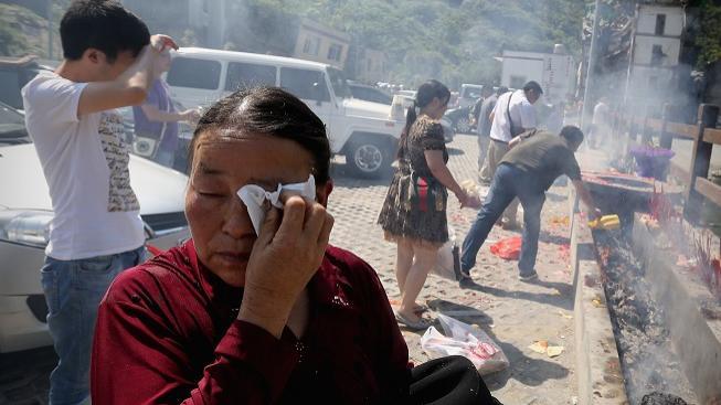 Zemětřesení v Číně