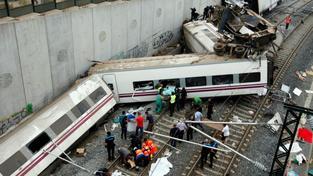 Nehoda vlaku v Santiagu de Compostela