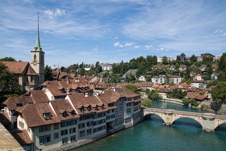 """""""Bern je Bern, jako Bůh je Bůh!"""" říká se o švýcarské metropoli"""