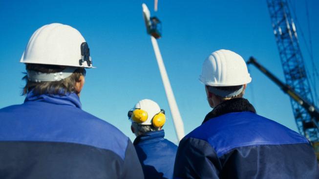 Dělníci, ilustrační foto