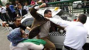 Násilí v Egyptě v ulicích Káhiry