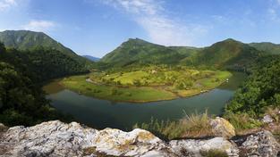 Zákruty řeky Moravy