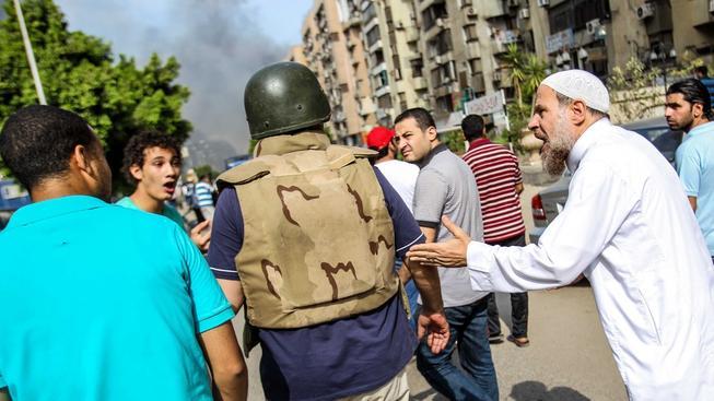 Situace v egyptských ulicích