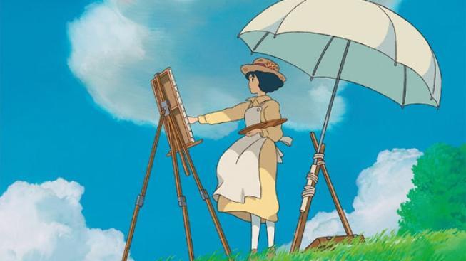 Plakát k filmu Zvedá se vítr