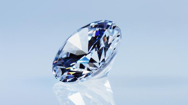 Modrý diamant (ilustrační fotografie)