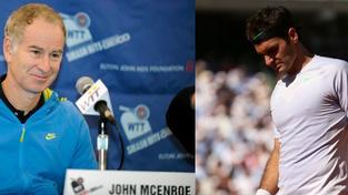 John McEnroe, Roger Federer