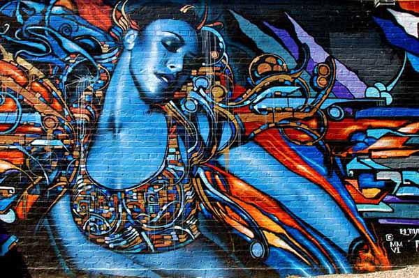 Graffiti v Los Angeles