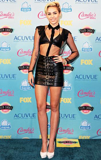 Miley Cyrus, srpen 2013