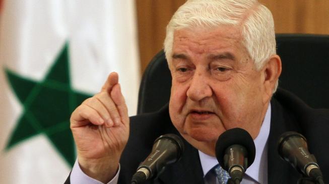 Syrský ministr zahraničních věcí Walid Muallem
