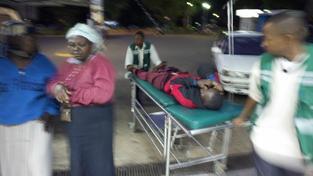 Nehoda v Keni