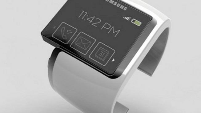 Chytré hodinky Samsung (ilustrační foto)