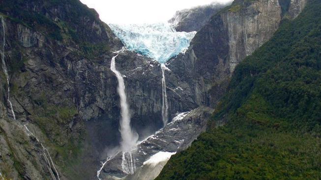 Ventisquero Falls