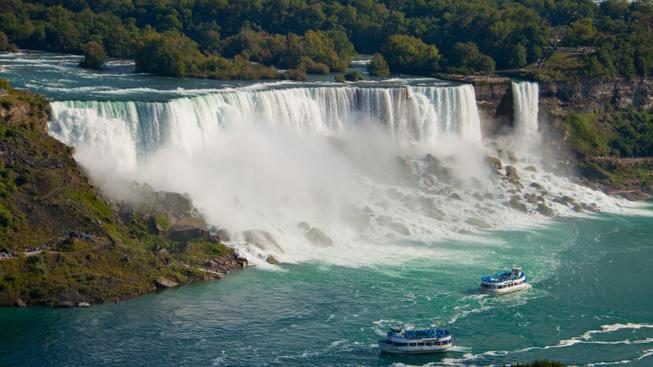 Niagarské vodopády, USA/Kanada