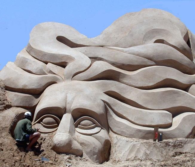 Vznikající skulptura