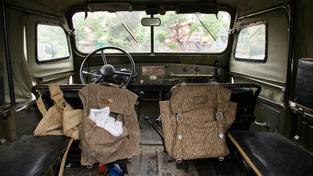 Vojenský vůz, ilustrační foto