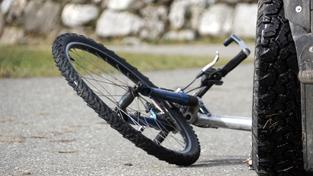 Nehoda cyklisty (ilustrační foto)