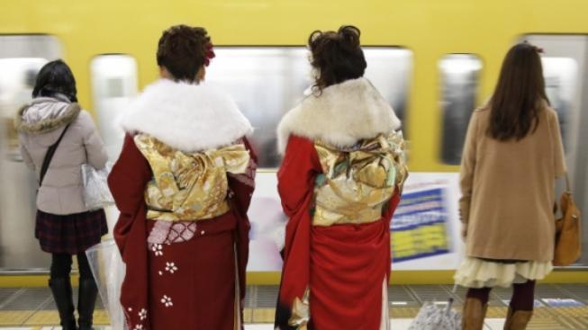 Japonky (ilustrační fotografie)