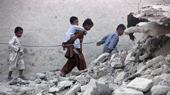 Zemětřesení v Pakistánu
