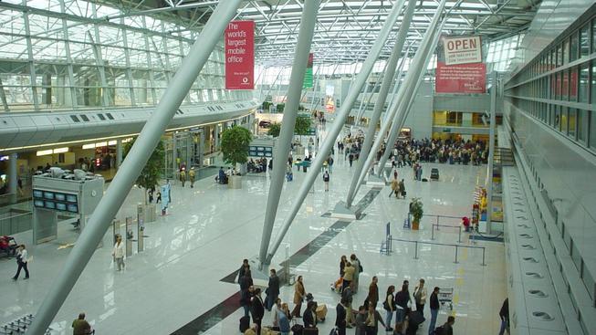 Letiště v Dusseldorfu