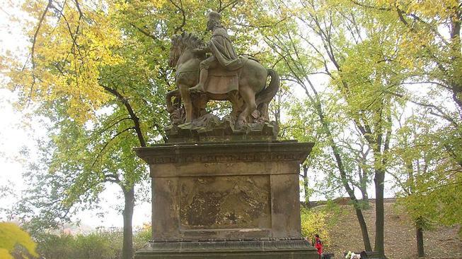 Socha svatého Václava na Vyšehradě