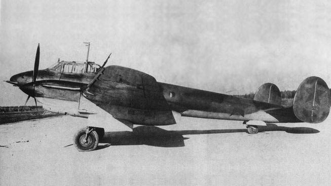 Ruský bombardér Pe-2
