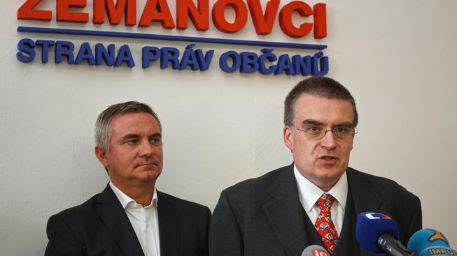 Vratislav Mynář a Zdeněk Žák