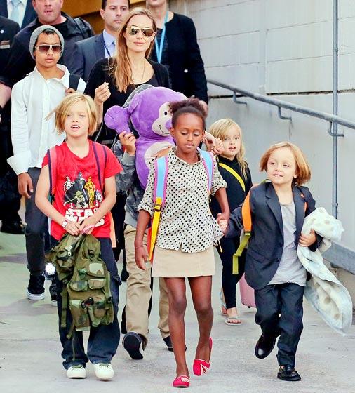 Rodina Jolie - Pitt