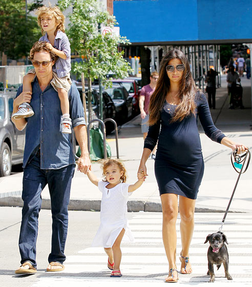 Rodina McConaugheyových