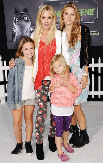 Jennie Garth s dcerami