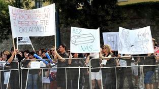 Protest zdravotních sester