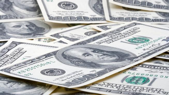 Americké dolary (ilustrační fotografie)