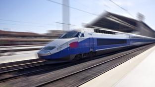 Vysokorychlostní železnice (ilustrační fotografie)