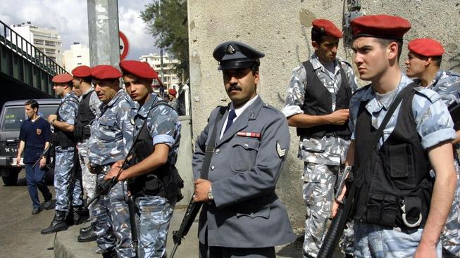Libanonská policie (ilustrační foto)