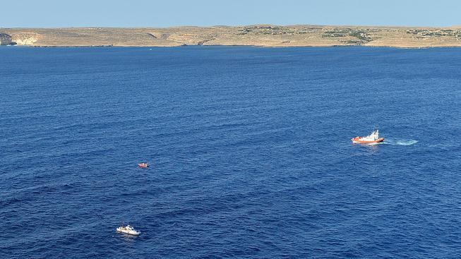 Středeční záchranná akce ve Středomoří