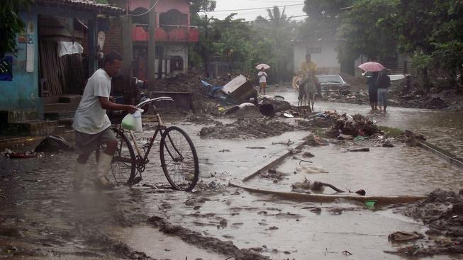 Následky cyklonu (ilustrační foto)