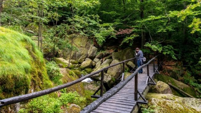 Pěší turistika v Jizerských horách