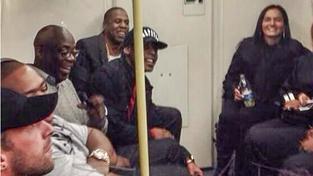 Jay-Z v londýnském metru