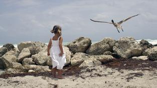 Dívka v přírodě (ilustrační foto)