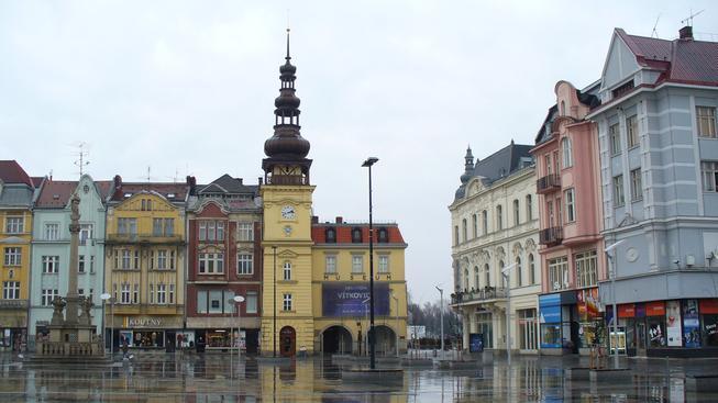 Ostrava, Masarykovo náměstí (ilustrační fotografie)