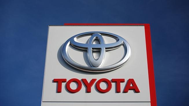 Logo Toyoty (ilustrační fotografie)