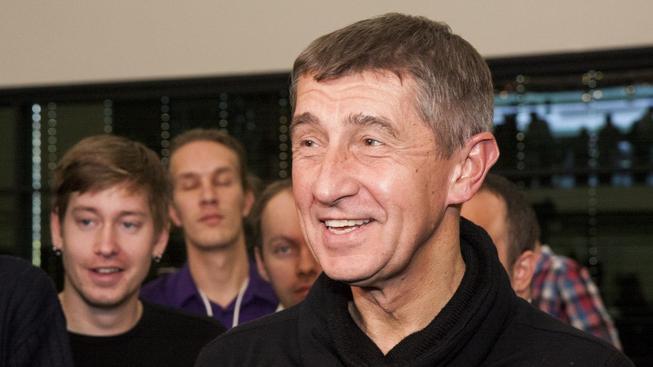 Andrej Babiš po skončení voleb